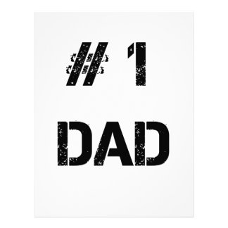 # 1 dad father dady letterhead template