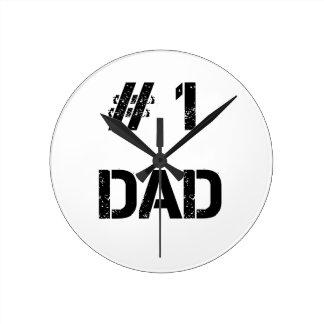 # 1 dad father dady round clock