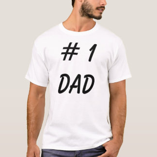 # 1 Dad Shirt - Funny Father Tee Shirts