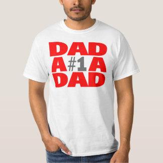 #1 Dad T-shirts