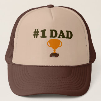 #1 Dad Trophy Hat