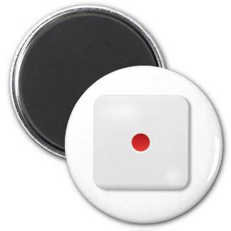 1 Dice Roll Refrigerator Magnet