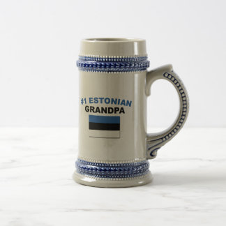 #1 Estonian Grandpa Beer Stein