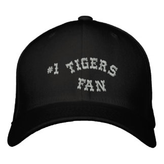 1 Fan Black and Silver Basic Flexfit Wool Embroidered Baseball Cap