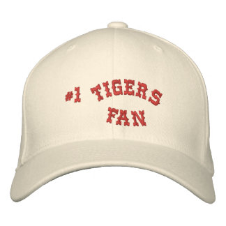1 Fan Cream and Crimson Basic Flexfit Wool Embroidered Hat
