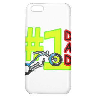 #1 Father's Day Chopper Dad The MUSEUM Zazzle Gift iPhone 5C Cases