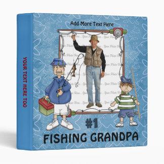 #1 Fishing Grandpa Binders