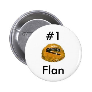 #1 flan 2 inch round button
