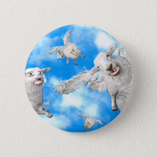 1_FLYING SHEEP 2 INCH ROUND BUTTON