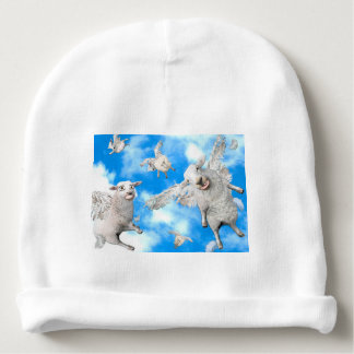 1_FLYING SHEEP BABY BEANIE