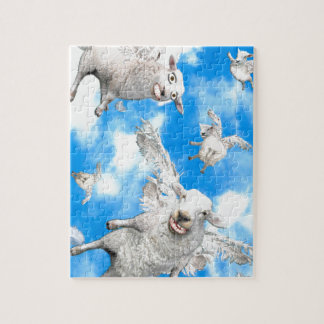 1_FLYING SHEEP JIGSAW PUZZLE