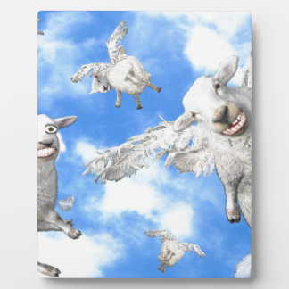 1_FLYING SHEEP PLAQUE