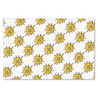 #1 Foster Dad Super Hero Design Tissue Paper