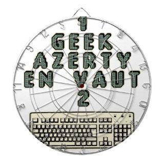 1 GEEK AZERY is worth 2 of them - Plays of motsT Dartboard