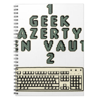 1 GEEK AZERY is worth 2 of them - Plays of motsT Notebooks