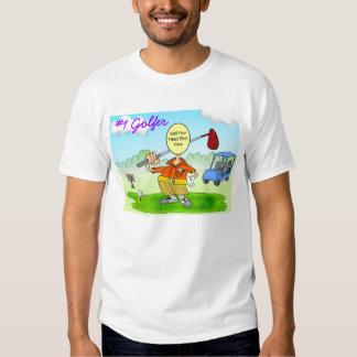 #1 Golfer T-Shirt