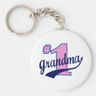 #1 Grandmother Keychain