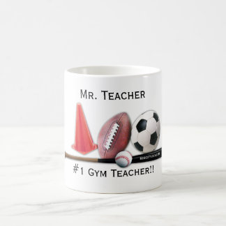 #1 Gym Teacher Editable Mug