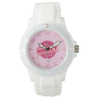 #1 Hockey Coach Wrist Watch, watch style choice