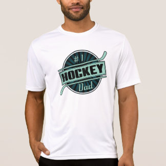 #1 Hockey Dad Customizable Men's T-Shirt