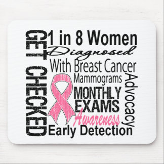 1 in 8 Women - Breast Cancer Awareness Mouse Pad
