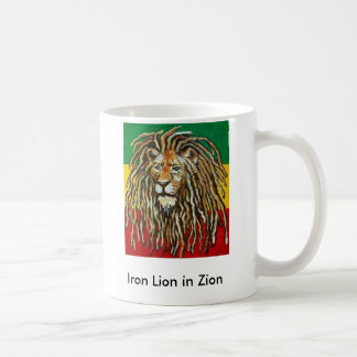 1, Iron Lion in Zion Coffee Mug