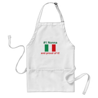 #1 Italian Nonna (Grandmother) Standard Apron