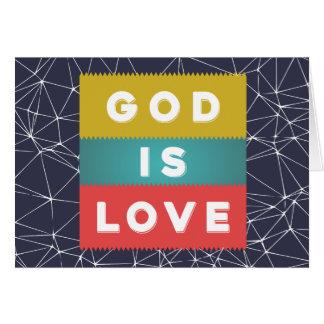 1 John 4:8 - God Is Love Card
