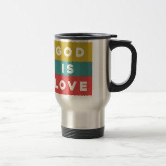 1 John 4:8 - God Is Love Travel Mug