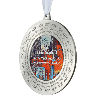 1 John Chapter 2 Lm Pewter Ornament