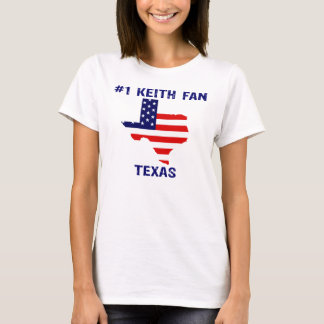 #1 KEITH FAN TEXAS T-Shirt