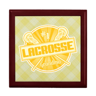 #1 Lacrosse Grandma Jewelry Box