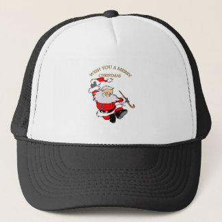 1 MERRY CHRISTMAS TRUCKER HAT