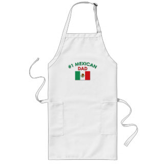 #1 Mexican Dad Long Apron