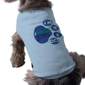 1 Million Steps 4 OCD Dog Shirt
