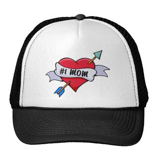 #1 MOM MESH HAT
