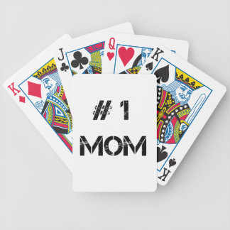 # 1 mom mother mommy bicycle playing cards