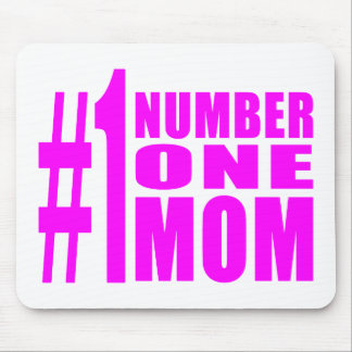 1 Moms Birthdays Christmas Number One Mom Mouse Pad
