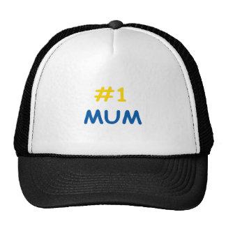 #1 mum best mother trucker hat