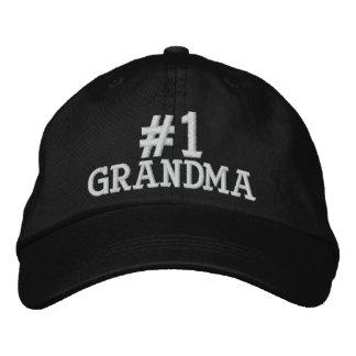 #1 Number One Grandma Embroidered Cap Baseball Cap