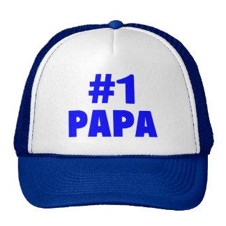 #1 Papa Trucker Hat