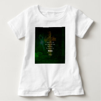 1 Peter 5:7 Uplifting Bible Verses Quote Baby Romper