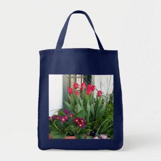 1 Primrose Tulips Tote Bag