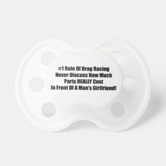 1 Rule Of Drag Racing Never Discuss How Much Parts Pacifier