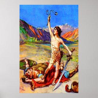 1 Samuel 17 David Defeats A Giant poster