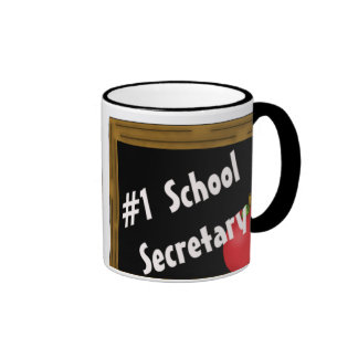 #1 School Secretary Mug