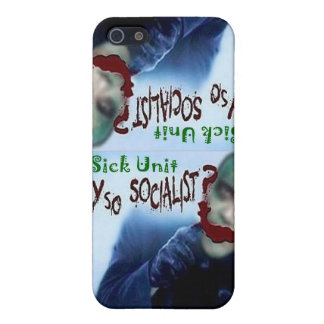 1 Sick Unit, Why So Socialist? IPhone Cover For iPhone 5/5S
