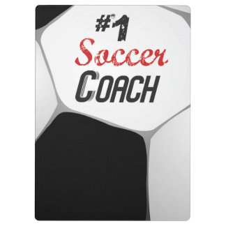#1 Soccer Coach Large Ball Clipboard