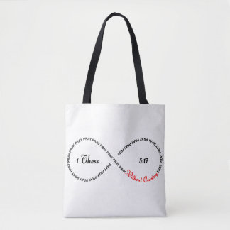 1 Thes 5:17- Pray Without Ceasing Simple tote bag