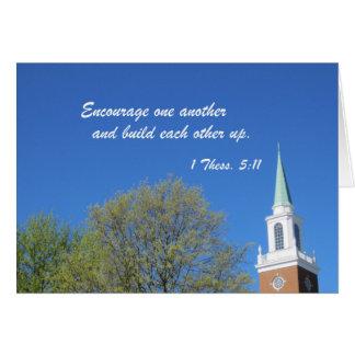 1 Thessalonians 5:11 Card